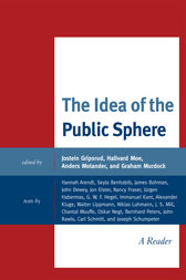 The Idea of the Public Sphere by Jostein Gripsrud