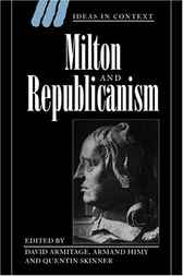 Milton and Republicanism by David Armitage