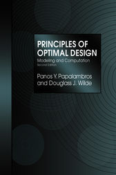 Principles of Optimal Design by Panos Y. Papalambros