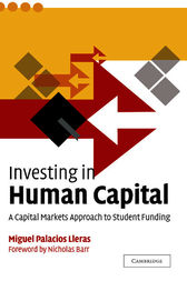 Investing in Human Capital by Miguel Palacios Lleras