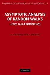 Asymptotic Analysis of Random Walks by A. A. Borovkov