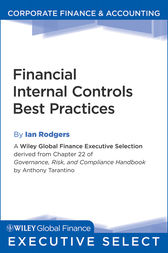 Financial Internal Controls Best Practices by Anthony Tarantino