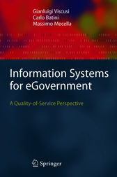 Information Systems for eGovernment by Gianluigi Viscusi