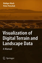 Visualization of Digital Terrain and Landscape Data by Rüdiger Mach