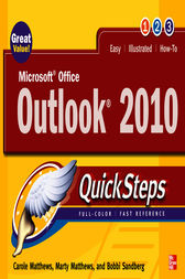 Microsoft Office Outlook 2010 QuickSteps by Carole Matthews