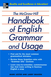 The McGraw-Hill Handbook of English Grammar and Usage by Mark Lester