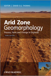 Arid Zone Geomorphology by David S. G. Thomas