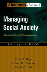 Managing Social Anxiety by Debra A. Hope