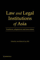 Law and Legal Institutions of Asia