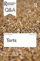 Q&A Torts 2011-2012 by Jason Lowther