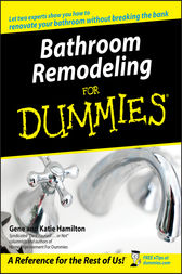 Bathroom Remodeling For Dummies by Gene Hamilton
