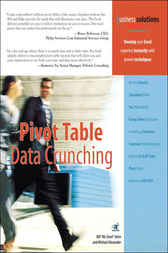 Pivot Table Data Crunching by Bill Jelen