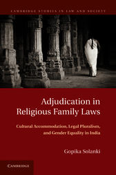 Adjudication in Religious Family Laws by Gopika Solanki
