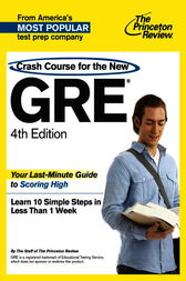Crash Course for the New GRE, 4th Edition by Princeton Review