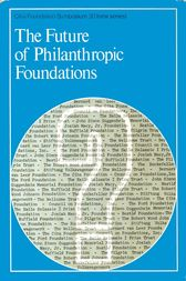 The Future of Philanthropic Foundations by CIBA Foundation Symposium