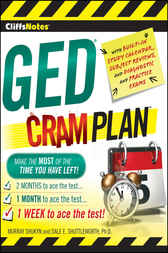 CliffsNotes GED Cram Plan by Murray Shukyn