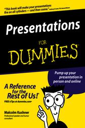 Presentations For Dummies by Malcolm Kushner