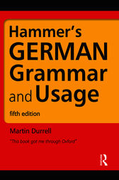 Hammer's German Grammar and Usage, Fifth Edition