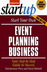 Start Your Own Event Planning Business by Entrepreneur Press