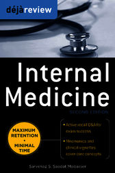 Deja Review Internal Medicine, 2nd Edition by Sarvenaz Saadat
