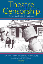 Theatre Censorship by David Thomas