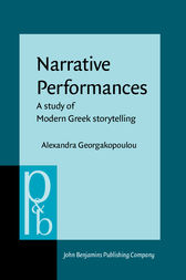 Narrative Performances by Alexandra Georgakopoulou