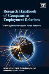 Research Handbook of Comparative Employment Relations by Michael Barry