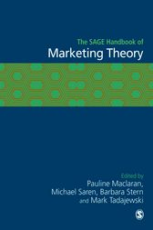 The SAGE Handbook of Marketing Theory by Pauline Maclaran