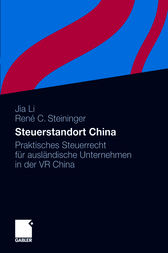 Steuerstandort China by Jia Li