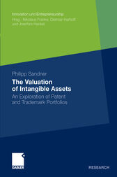 The Valuation of Intangible Assets by Philipp Sandner