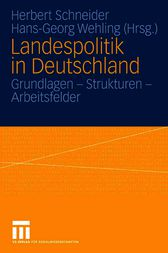 Landespolitik in Deutschland by Hans-Georg Wehling