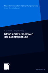 Stand und Perspektiven der Eventforschung