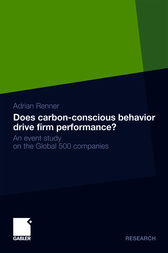Does carbon-conscious behavior drive firm performance? by Adrian Renner