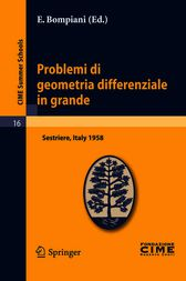 Problemi di geometria differenziale in grande