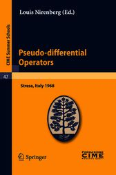 Pseudo-differential Operators by Louis Nirenberg