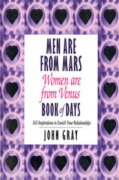 Men Are From Mars, Women Are From Venus Book Of Days by John Gray