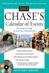 Chases Calendar of Events, 2012 Edition by Editors of Chase's Calendar of Events
