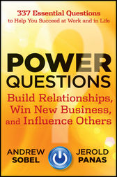 Power Questions by Andrew Sobel