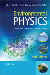 Environmental Physics by Egbert Boeker