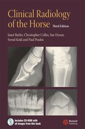 Clinical Radiology of the Horse by Janet Butler