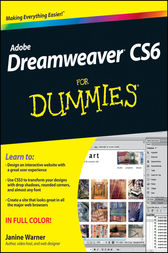 Dreamweaver CS6 For Dummies by Janine Warner