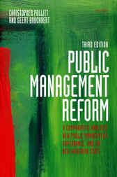 Public Management Reform by Christopher Pollitt