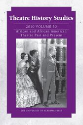 Theatre History Studies 2010, Vol. 30