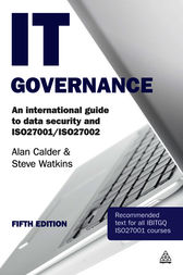 IT Governance by Alan Calder