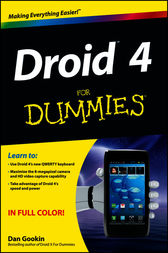 Droid 4 For Dummies by Dan Gookin