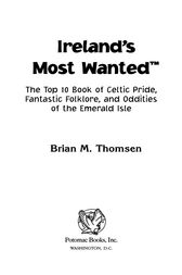 Ireland's Most Wanted™ by Brian M. Thomsen