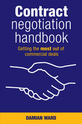 Contract Negotiation Handbook by Damian Ward