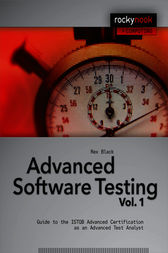 Advanced Software Testing - Vol. 1 by Rex Black