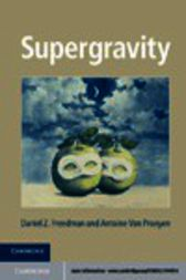 Supergravity by Daniel Z. Freedman