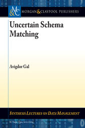 Uncertain Schema Matching